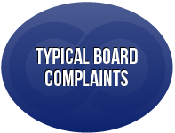 Typical Board Complaints - Medical Law
